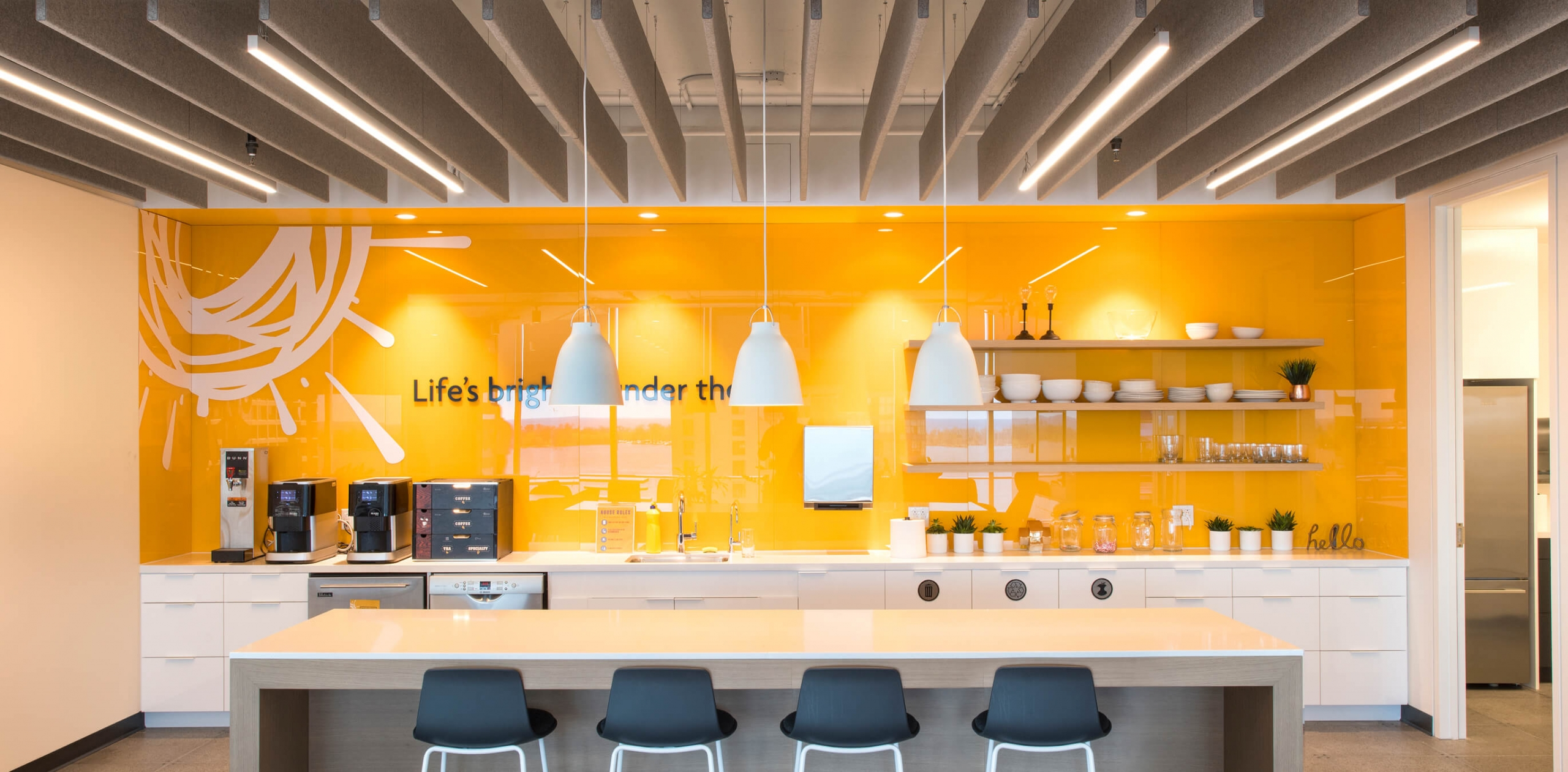 Inside the Sunlife Financial Toronto office