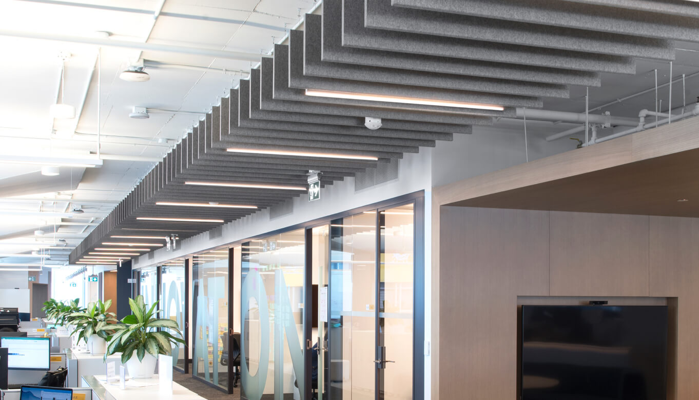 Inside Sunlife Financial Toronto office