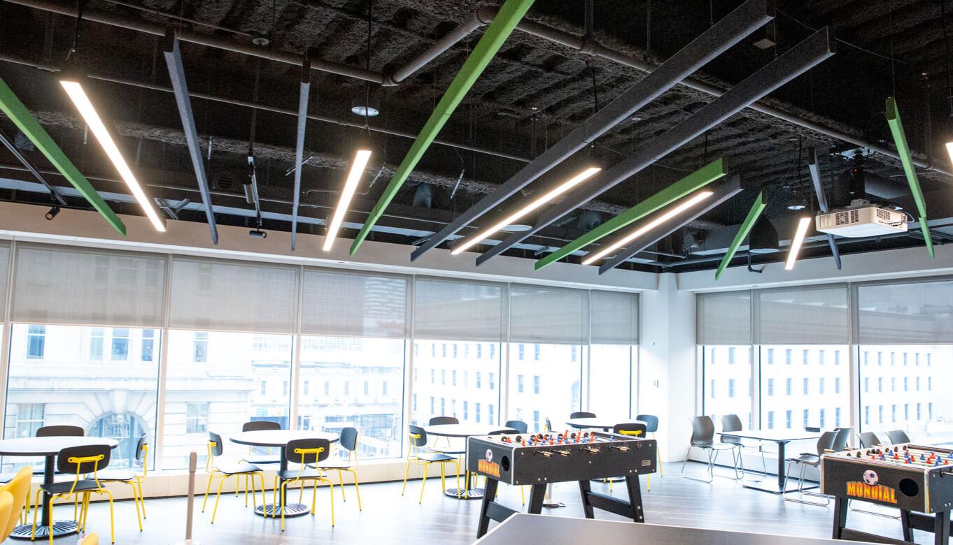 Inside office at TD Wealth