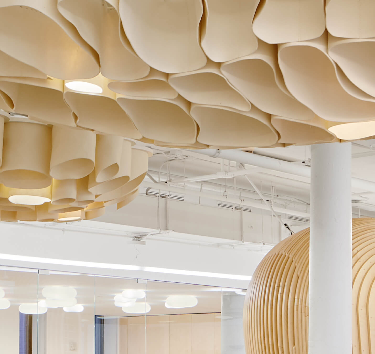 Use of Interior Felt at WeGrow facility