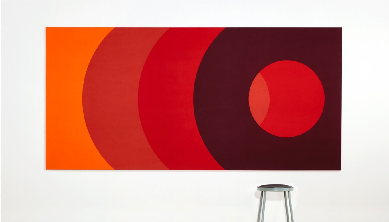 Example of decor panels by Interior Felt