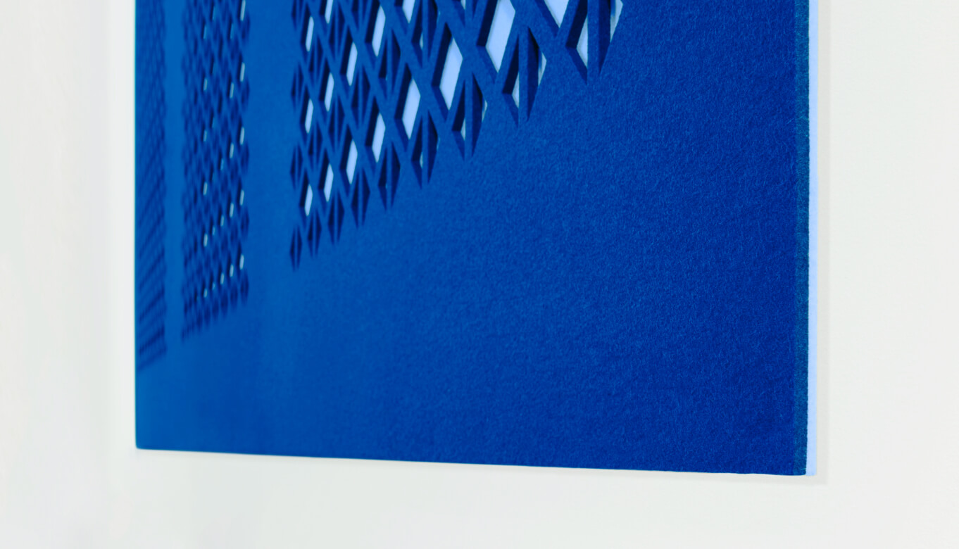Up close look at Felt2Felt product
