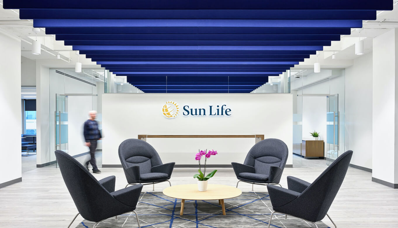 Inside of Sunlife Financial Kansas